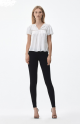 Citizens Of Humanity Rocket Petite High Rise Skinny In All Black