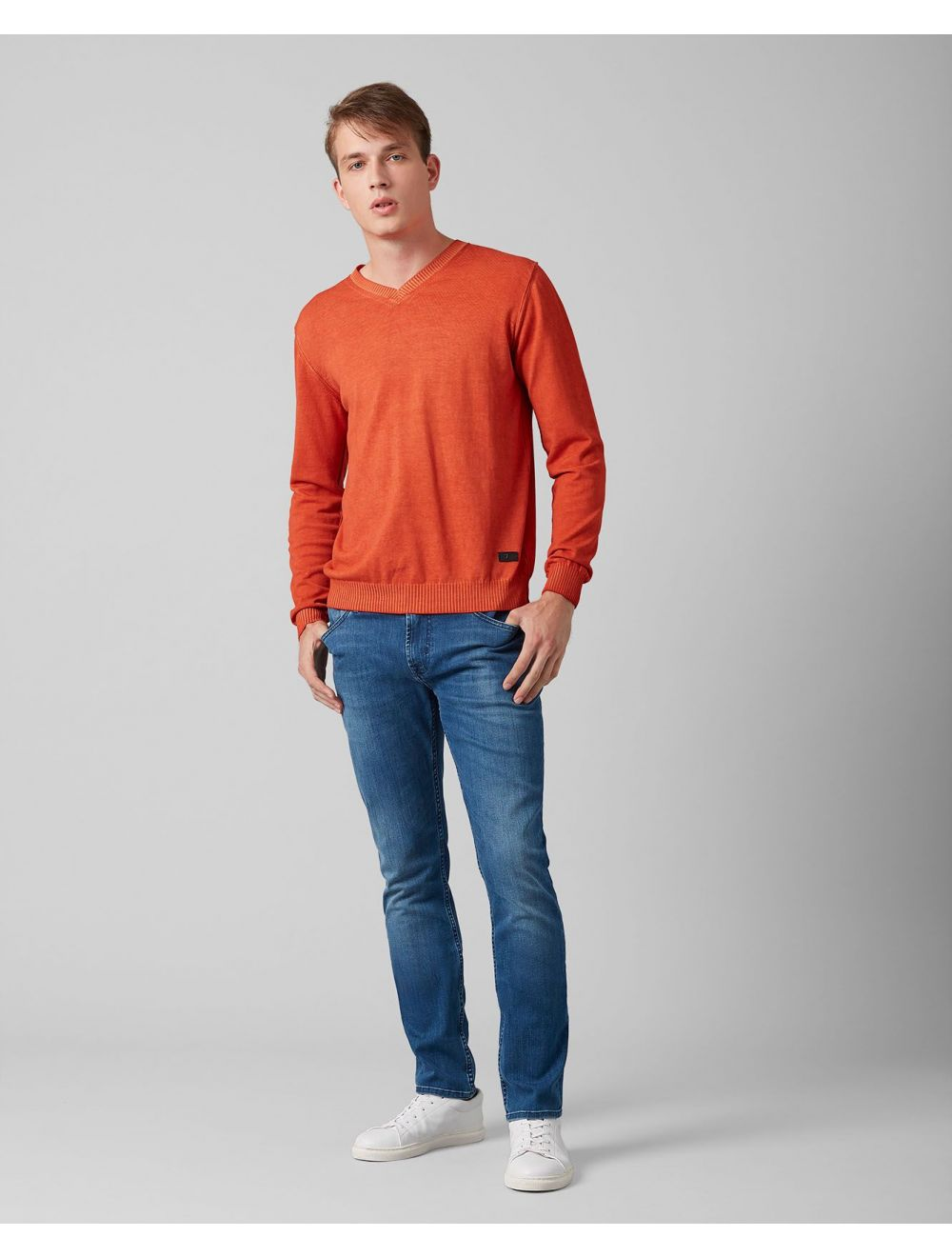 Seven For All Mankind Ronnie Luxe Performance Mid Blue