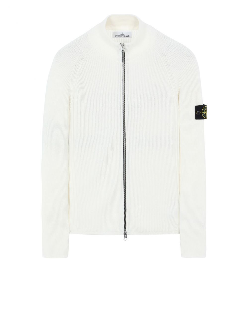 Stone Island Knitted Cardigan - Off White