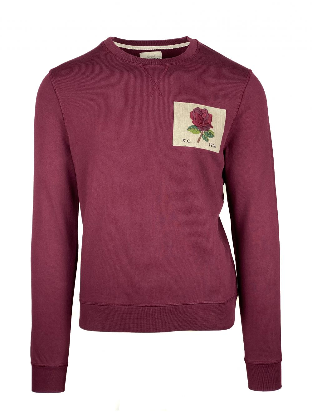 Kent & Curwen Icon Sweater - Bordeaux