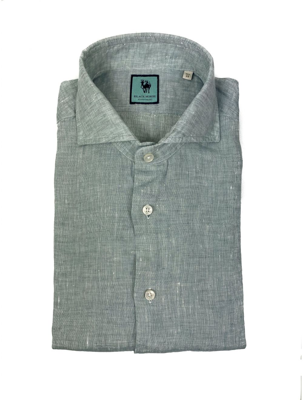 Xacus Shirt Linen - Mint