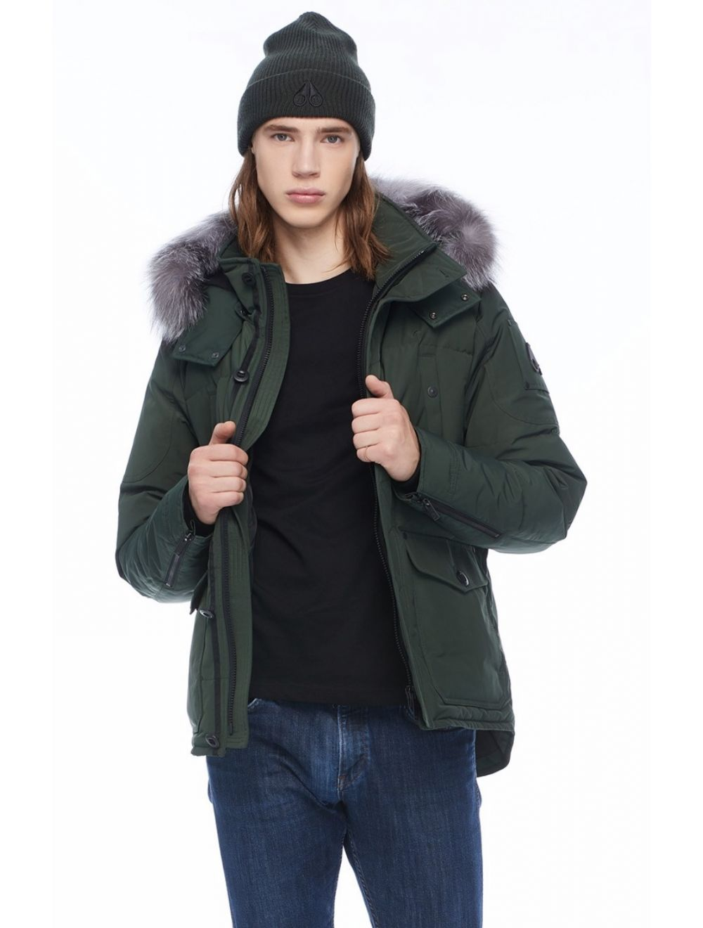 Moose Knuckles Round Island Jacket - Green