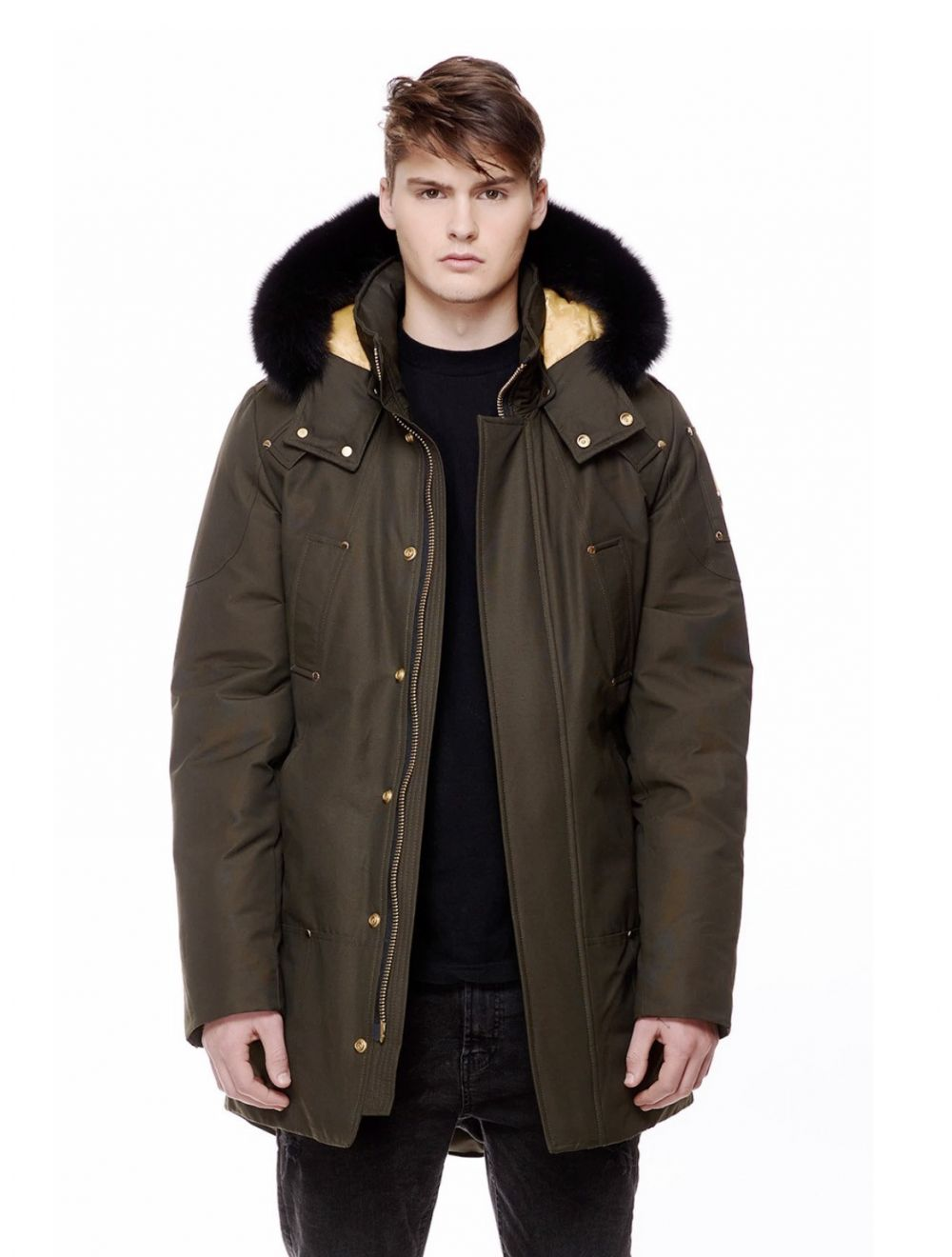 Moose Knuckles Stag Lake Parka - Army Green