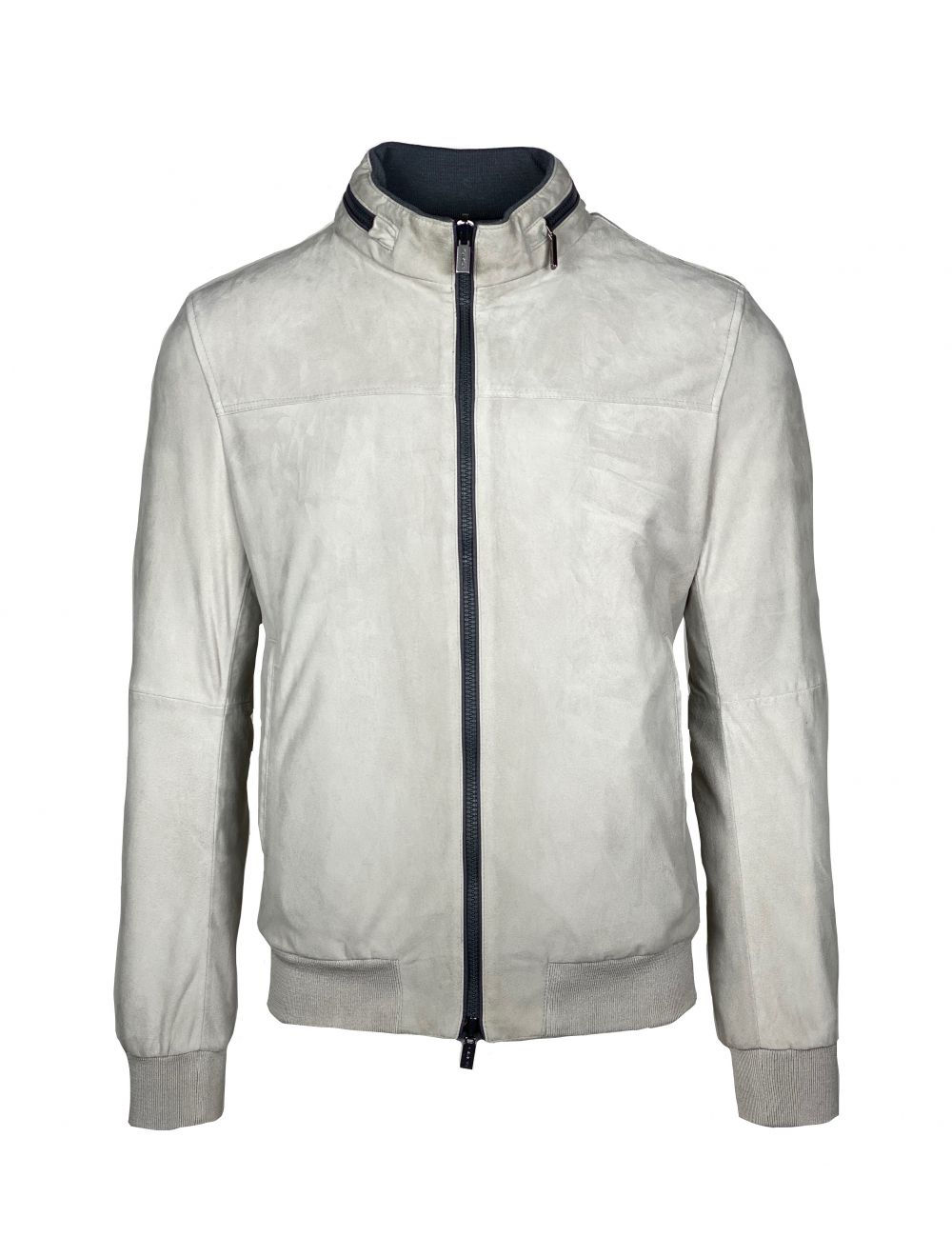 GIMO'S Reversible Leather Jacket - Beige